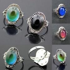 1 PC New Mood Ring Changing Color Fashion Adjustable Temperature Control