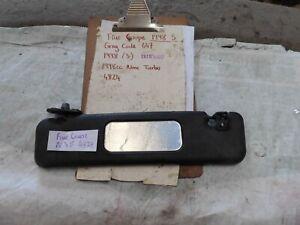 FIAT COUPE 20v FRONT PASSENGER SIDE SUN VISOR 1998