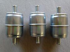 """THREE(3) GKI GF69M 3/8"""" Metal Inline Gas/Fuel Filter LOT fits G15 G61P 33033"""