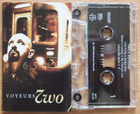 TWO - VOYEURS (NOTHING / INTERSCOPE INTC90155) 1998 USA CASSETTE INDUSTRIAL ROCK