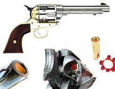"Kolser Replica Colt M1873 Peacemaker CAVALRY PISTOL Revolver Cap Gun prop 5.5"""