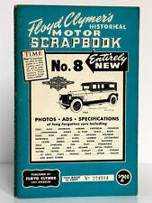 Floyd Clymer's Historical Motor Scrapbook n°8. Los Angeles 1955. English book