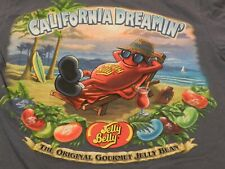 RARE Jelly Belly Jelly Beans 2-sided promo T Shirt Men's S