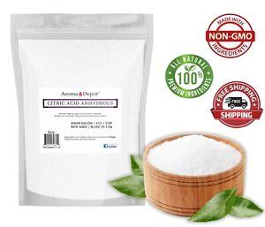 3lb 100% Pure Premium Citric Acid Food Grade NON GMO Anhydrous Grade A