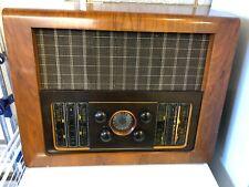 More details for rare vintage bush ebs4 valve radio