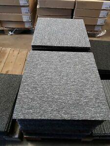 20 x Carpet Tiles 5m2 Box Heavy Commercial Retail Office Premium Flooring GREY