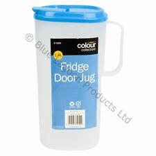 1.8L Fridge Door Jug & Lid Pitcher Litre Container Milk Plastic Juice Water