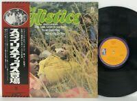 The Stylistics - S/T LP 1977 Japan Avco VIP-6014 R&B SWEET Soul FUNK ROCK w/ obi