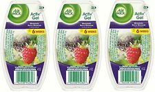 Air Wick Activ' Gel - Mountain Berry Blossom 4 oz. (Pack of 4)