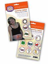 ProudBody Pregnant Tummy TATTs Temporary Pregnancy Belly Tattoos - FDA Approved