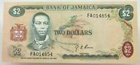 JAMAICA 2 DOLLARS 1960 UNC   #alb20 115