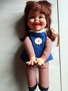 """Rare Remco """"Baby laugh a lot"""", vintage doll"""
