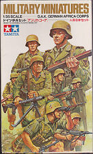TAMIYA 35037 MM137 - D.A.K. GERMAN AFRIKA CORPS - 1/35 - NUOVO
