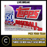 2019 TOPPS BASEBALL SERIES 2 JUMBO 3 BOX HALF CASE BREAK #A344 - PICK YOUR TEAM