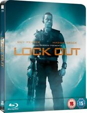 Lockout Limited Edition Steelbook Bluray UK Exclusive Region B Guy Pearce NEW