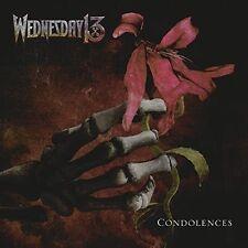 Condolences  WEDNESDAY 13 CD ( FREE SHIPPING)