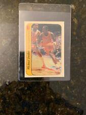 1986-87 Fleer Basketball STICKER #7 MICHAEL JORDAN ROOKIE.....EX