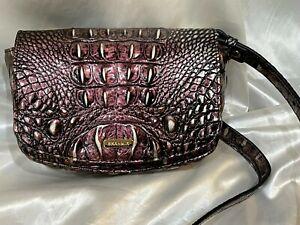 Brahmin Lil Plum Melbourne Crossbody Shoulder or Belt Bag MSRP $245