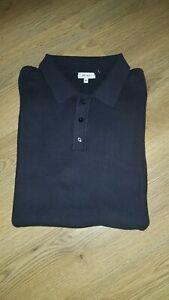Reiss Men Knitted Polo Shirt Top XxL XL rrp £70