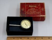 STARRETT No.196 Universal Jeweled Dial Test Indicator Made in USA, READ, S-7847