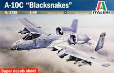 A-10C Thunderbolt II Blacksnakes Flugzeug 1:48 Model Kit Bausatz Italeri 2725