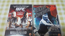UFC 44 TITO VS COUTURE & ULTIMATE KNOCKOUTS DVD USED