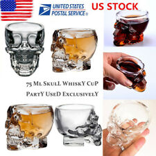 Crystal Skull Head Vodka Whiskey Shot Glass Cup Drinking Ware Home Mug Barware