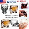 Crystal Skull Head Clear Whiskey Shot Glass Cup Drinking Ware Home Mug Barware