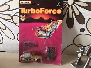 Vintage Matchbox Turbo Force , Kenworth Barrel Bomber Truck ,On Card