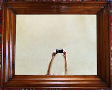 Edelholz 1m Wand Spiegel Bilder Gemälde Rahmen alt antik modern Haus Wohnung