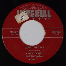 CHUCK CARBO & THE SPIDERS: Don't Pity Me USA IMPERIAL R&B 45 HEAR