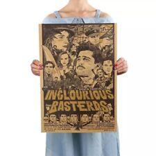 Inglourious Basterds Brad Pitt Poster Quentin Tarantino Film Plakat Wandbild NEU