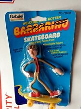John Travolta signed autograph Welcome Back Kotter Barbarino skateboard figure