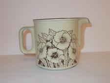 Hornsea Custard Jug Gravy Jug Water Jug Cornrose Floral Vintage Style Lovely