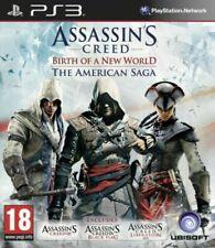 Assassin's Creed American Saga PS3 PlayStation 3 Video Game Birth of New World