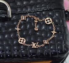 Clover Flower Design Bracelet titanium 14k stainless steel rose gold bracelet