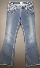 Silver Jeans Sz 26x31 Aiko Flare Dark Wash Womens