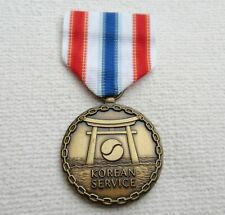 Orden USA Merchant Navy Medal for Dienst in Korea at Band
