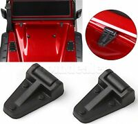 2PCS Style Black ABS Engine Cover Hinge for 1:10 RC Crawler Traxxas TRX-4 TRX4