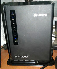 USED Airtel Unlocked Huawei E5172 Wireless 4g Router, Modem WiFi ADSL LAN Jio