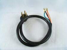 GE Range Cord 4 Prong 4 Wire  Fits All Brands  4 Foot Length