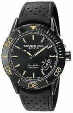 Raymond Weil 2760-sb2-20001 Freelancer 43mm Men's Automatic Black Rubber Watch
