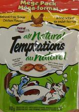 Whiskas Temptations All Natural Free Range Chicken Cat Treats 10 x 160g
