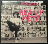 New! RON GALLO - HEAVY META CD - Sealed by New West Records