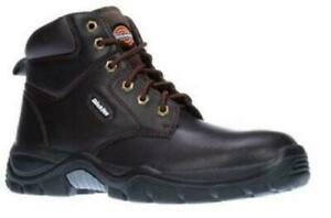 DICKIES NEWARK BROWN SAFETY BOOTS