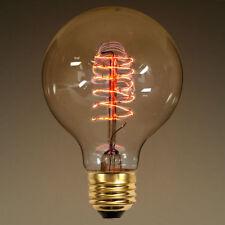 Antique Vintage Light Bulb 2.87 in x 4.4 in Spiral Filament E26 Tinted 25 Watt