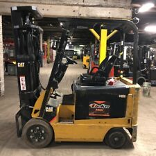 2013 Cat Ex5000 5000lbs Used Forklift Electric Triple Mast Sideshift Low Hours