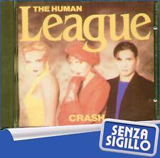 """THE HUMAN LEAGUE """" CRASH """" CD NUOVO DI NEGOZIO VIRGIN 1986"""