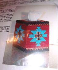HTF Joan Green Designs SOUTHWEST Tissue Box Cover Plastic Canvas Kit