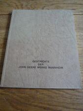 JOHN DEERE & LANZ TRACTORS - COMPANY PRODUCED HISTORY BOOK